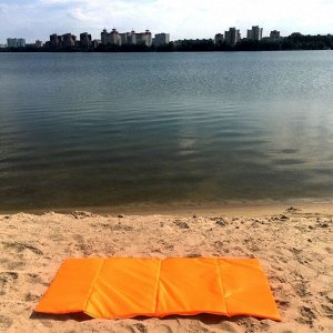 Пляжная сумка-лежак Морской бриз одноместный оранжевый