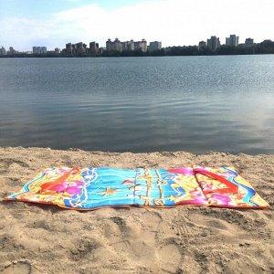 Пляжная сумка-лежак Морской бриз одноместный розовый
