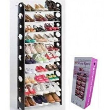 Самые нужные TV товары для всех! Хит гибкое стекло! 5 — Стойки для обуви — Системы хранения