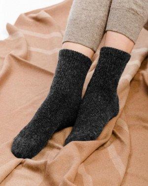 Носки из шерсти 70%  (35-37, графитовый)