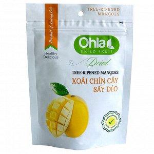 Сушеное вяленое манго, 100гр