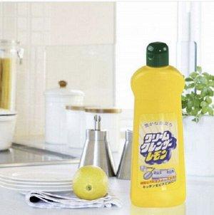 "Чистящее средство""Cream Cleanser"" с полирующими частицами и свежим ароматом лимона"