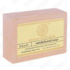 "Мыло ""Сандаловое дерево"" Khadi SANDAL WOOD SOAP 125гр"
