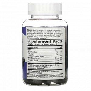 Nature&#x27 - s Way, Sambucus, стандартизированный экстракт бузины, 60 жевательных таблеток