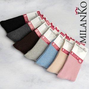 Женские махровые носки MilanKo N-310