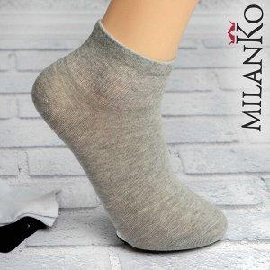 Мужские носки спортивные укороченные (Узор 3) MilanKo S-628