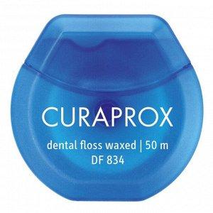 Нить межзубная мятная Curaprox DF 834