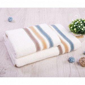 Ренессанс хлопок АРТ Дизайн комплект полотенец 50*90 70*140 кремовый