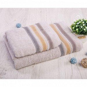 Ренессанс хлопок АРТ Дизайн комплект полотенец 50*90 70*140 серый