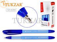 Ручка масляная, 0,7 mm, цвет чернил синий, ГОЛУБОЙ корпус. Производство - Россия.
