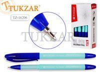 Ручка масляная, 0,7 mm, цвет чернил синий, МЯТНЫЙ корпус. Производство - Россия.