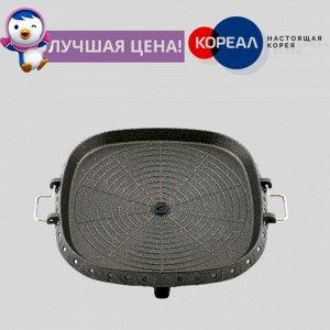 Жаровня Hanaro Square Platinum с равномерным нагревом для газовой плиты