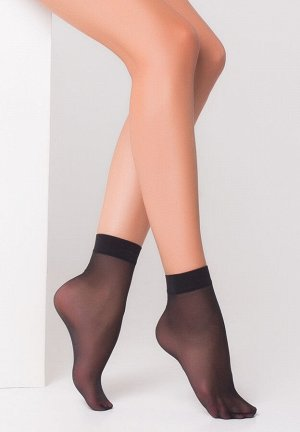 """Носки капроновые женские """"Fashion Socks"""" черные"""