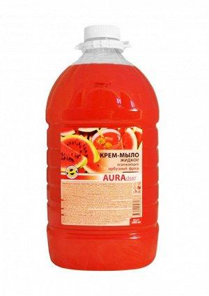 Аура Крем-мыло (бутылка) 5л Арбузный Фреш
