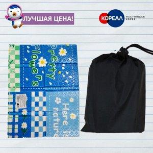 Складной кемпинговый ПЭТ индивидуальный мини коврик для пикника 29х39 см.