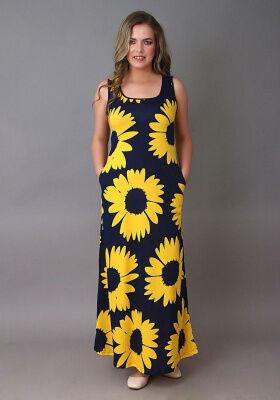 Платье Леди (Крупная ромашка)