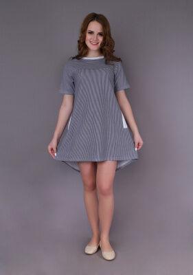 Платье Вероника (узкая полоса)