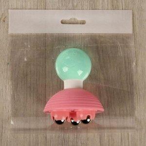 Массажёр универсальный, 3 магнита, цвет МИКС