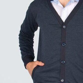 Новый бренд: Школа без рядов/гарантия цвета — МАЛЬЧИКИ КАРДИГАНЫ — Одежда для мальчиков