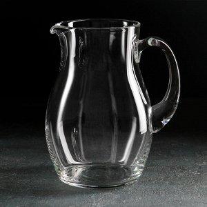 Кувшин НЕМАН «Прозрачный», 1,5 л, без крышки