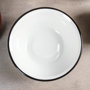 Миска 0,8 л, без деколи, цвет белый