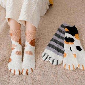 Женские плюшевые носочки в ассортименте