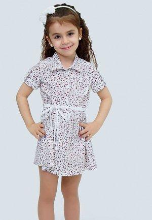 Платье детское + поясок