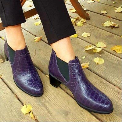 ОРТОМОДА. Стиль и здоровье ног каждому! — ЖЕНСКАЯ коллекция осень-зима. Профилактика плоскостопия. — Кожаные