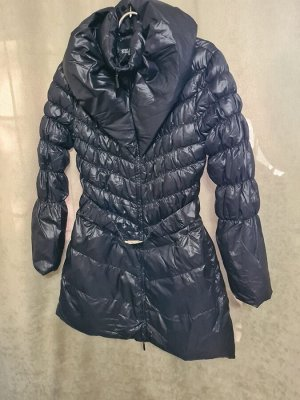 Куртка Куртка Пекин. Осень, на синтепоне. Цвет черный, удлиненная.  Размер XXL (на русский 50)