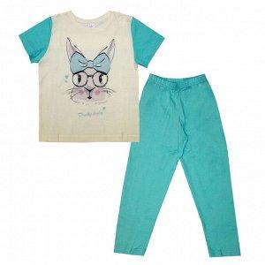 Пижама для девочек арт 10767