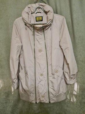Куртка Куртка Пекин. Осень, на синтепоне. Цвет молоко, удлиненная.