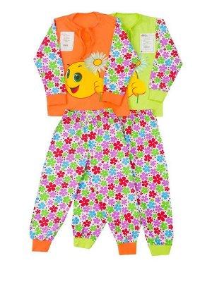 Пижама Ромашка кулирка