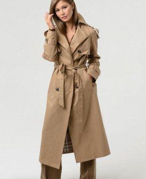 Плащ +79140780241 ЗВОНИТЬ УЧАСТНИКУ! Плащ — удобная одежда на весну, летний холод после дождя или на тёплую осень. Классический удлинённый женский плащ ELFINA, сшитый из натурального хлопка как нельзя