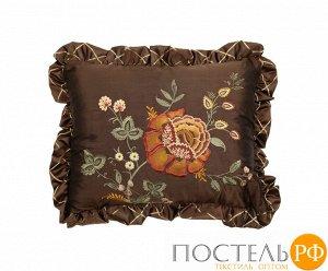 2142-723724 Brown Jacobean Подушка 40 см х 50 см