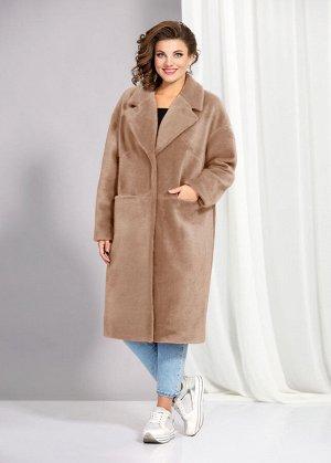 Пальто Пальто AGATTI 3530В  Состав ткани: ПЭ-90%; Шерсть-10%;  Рост: 164 см.  Модное и уютное пальто, актуального в этом сезоне силуэта, выполнено из теплой пальтовой ткани с добавлением шерсти. Паль