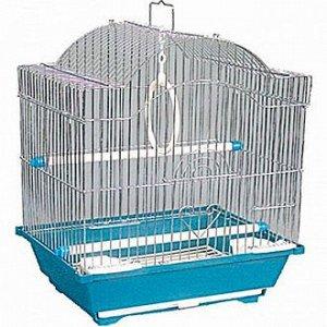 Клетка для птиц №2113 (цинк) 30*23*39 TRIOL