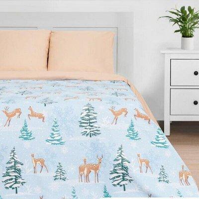 Новогодний текстиль для дома - Идеи для подарка. — Постельное белье ЕВРО — Двуспальные и евро комплекты