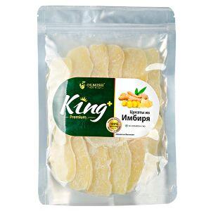 Имбирь Имбирь цукаты OLMISH KING 500 г 1. Имбирь в сахаре – пикантная закуска. Размягченные корни растения Zingiber пропитаны сахаром. У деликатеса терпкий сладкий вкус с пряным оттенком. Имбирь богат
