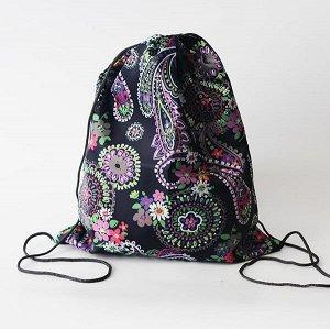 Сумка-рюкзак для сменной обуви Хохлома
