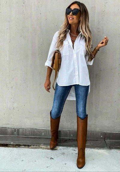 Теплая одежда для прохладных дней☀  — Повседневные блузки, рубашки — Рубашки и блузы