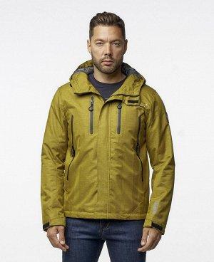 . Черный; Серый; Темно-зеленый; Темно-синий; Желтый;    Куртка POO 9916  Стильная мужская куртка, два наружных боковых кармана на молниях, два нагрудных кармана на молниях - удобные для телефон