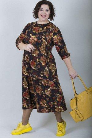 Платье свободного силуэта Марьяна 10140