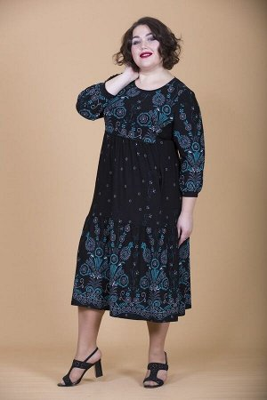 Платье свободного силуэта Марьяна 10138