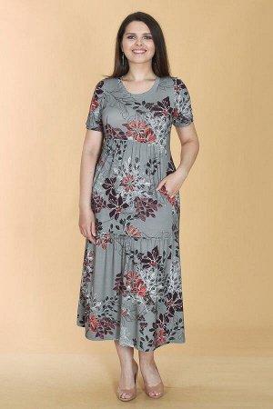Платье свободного силуэта Марьяна 10413