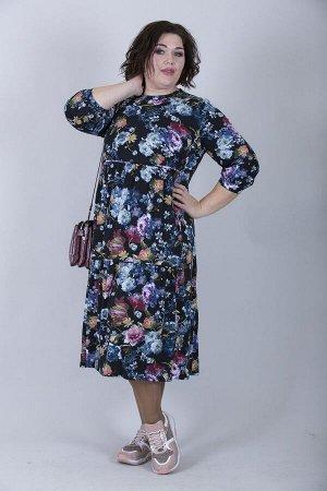 Платье свободного силуэта Марьяна 10137