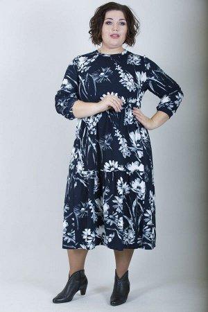Платье свободного силуэта Марьяна 10136