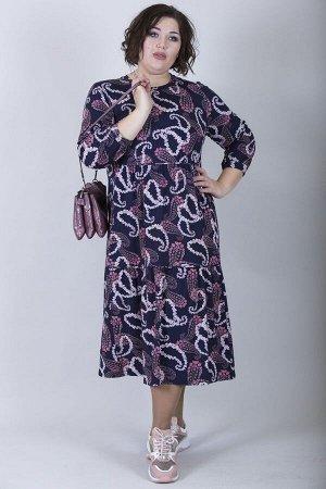Платье свободного силуэта Марьяна 10010