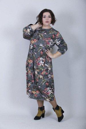 Платье свободного силуэта Марьяна 10177