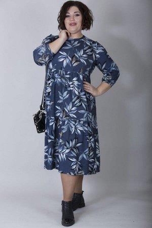 Платье свободного силуэта Марьяна 10168