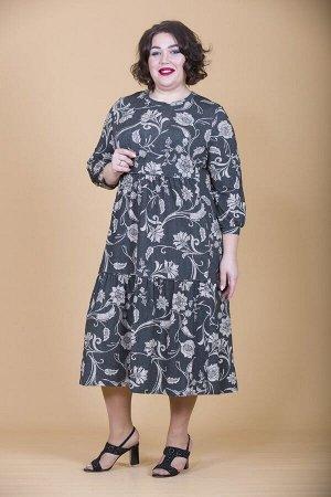 Платье свободного силуэта Марьяна 10206